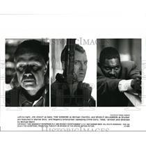 1995 Press Photo Jon Voight Tom Sizemore and Mykelti Williamson star in Heat