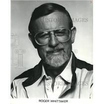 1983 Press Photo Roger Whittaker - cva56074