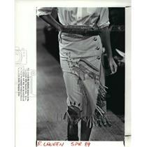 1988 Press Photo Fashion - cva60907