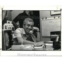 1984 Press Photo Bob Wickline, President of U. A. W. Local 1005