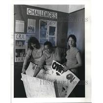 1984 Press Photo Buckeye Woodland Community Congress Haedquarters