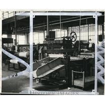 1931 Press Photo Cleveland Wax Paper Co