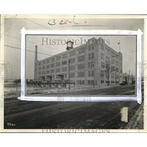 1928 Press Photo New Ohio Bell Warehouse at E101 Woodland Ave