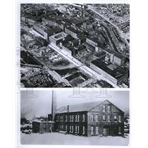 Press Photo Original BF Goodrich in Akron shown below & company's huge complex