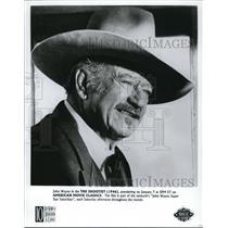 1995 Press Photo John Wayne in The Shootist - cvp58100