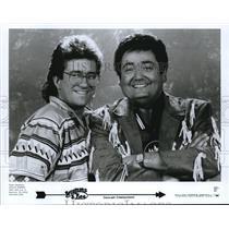 1990 Press Photo Williams & Ree - cvp56262