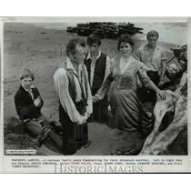 1969 Press Photo Swiss Family Robinson Kevin Corcran John Mills James MacCarther