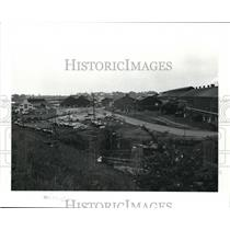 1986 Press Photo View of Grounds at LTV Steel Co.
