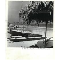 1971 Press Photo Forte Village at Sardinia, Italy