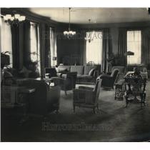 1925 Press Photo Mid-Day Club