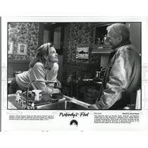 1994 Press Photo Paul Newman and Melanie Griffith in Nobody's Fool - cvp51633