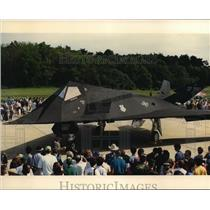 1990 Press Photo F-117A Stealth Fighter