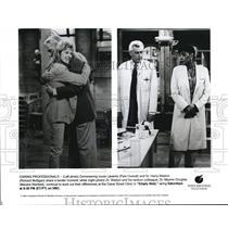 1994 Press Photo Park Overall Richard Mulligan and Marsha Warfield in Empty Nest
