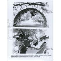 1987 Press Photo Scene from animated cartoon movie The Aristocats - cvp54069