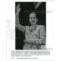 Undated Press Photo Intimate Portrait Eva Peron - cvp50281