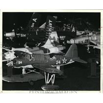 1981 Press Photo Airplane Model