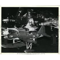 1981 Press Photo Airplane Model