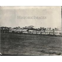 1929 Press Photo Lindenbergh Landing Plane