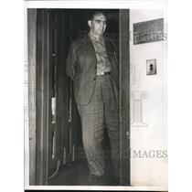 "1945 Press Photo Col. Joseph Mesinger Nazi Gestapo Chief known as the ""Butcher"""