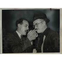 1939 Press Photo William McCuistion Former Communist Leader & Frederick Phillips