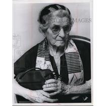 1967 Press Photo Mrs Clementina Farinacci Age 83 of Ohio