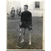1929 Press Photo Baltimore Md Wilbur Strett Md Univ field hockey Capt