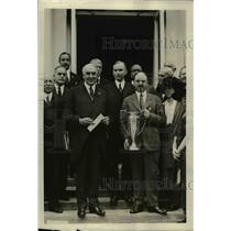 1921 Press Photo Dr FW Ballou superintendent of DC schools