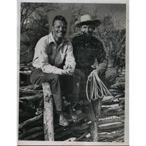 1948 Press Photo Hal Peck & Joe Gordon