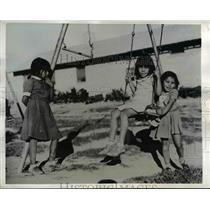 1942 Press Photo Mojave Indian Children on Colorado Indian Reservation