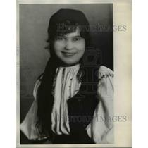 1929 Press Photo Jennie