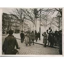 1927 Press Photo Portuguses revolt, Hotel Sul-Americano in background