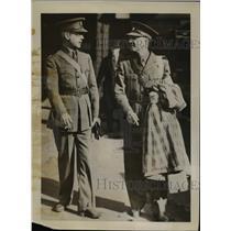 1939 Press Photo Edward Angly NY Herald Tribune, John ODonnell NY Daily News