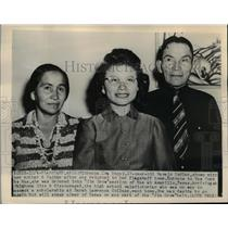 1948 Press Photo Florence Iva Begay Navajo Indian Awarded Scholarship to College