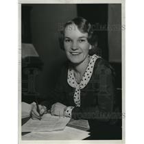 1930 Press Photo Ruth Elder