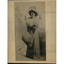 1918 Press Photo Mrs. Bessie May Skeels, Nurse Arrested for Larceny
