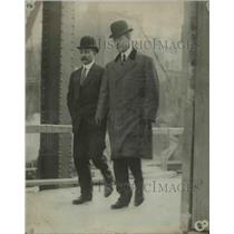 1910 Press Photo Capt. Loose and Dirnkle revealed Dr. Cooks effort