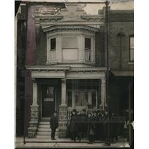 1919 Press Photo Philadelphia House