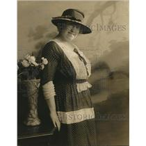 1923 Press Photo Mrs George Bass