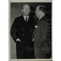 1938 Press Photo George Dietrich and Philip Reigh at the Haven Federal Building