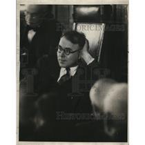 1927 Press Photo Philip Alayne Newspaperman