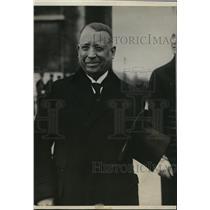 1927 Press Photo Paris France Simon I Patino Bolivian Minister of Finance