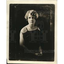 1924 Press Photo Miss Grace Walley
