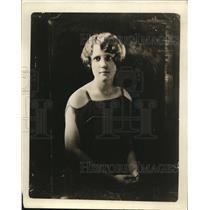 1924 Press Photo Miss Grace Walley