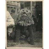 1922 Press Photo Anderson cheer leader for Columbia vs New York University