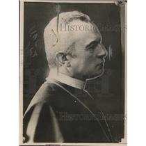 1919 Press Photo Bishop of Prohaszke 1st Premier of Hungarian Republic