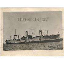 1919 Press Photo Steam Ship America - nee14228