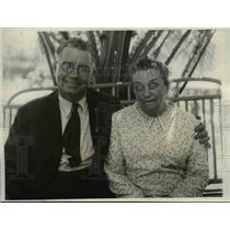 1931 Press Photo Mr. & Mrs. W. Moyle their Son is Don Moyle