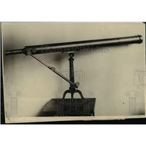 1918 Press Photo A fine telescope, a gift from a German Emperor - nee16795