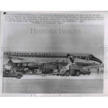 1963 Press Photo A Toronto bound Canada Airlines after a safe emergency landing