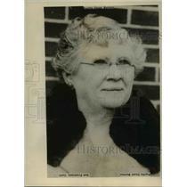 1927 Press Photo Sarah Smith Scollard, Suing Husband George F., Seattle